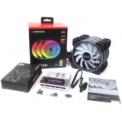 Extractor Thermaltake Riing 14 LED 140mm Colores